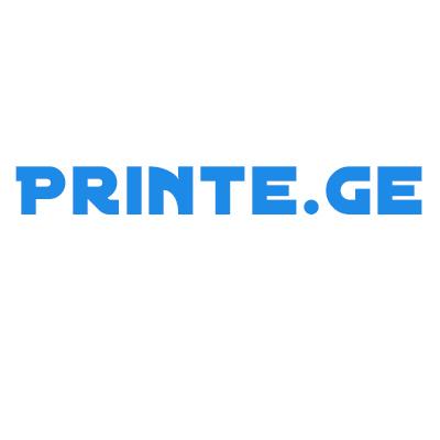პრინტ.ჯი / PRINTE.GE
