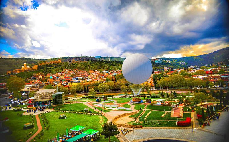 air baloon tbilisi