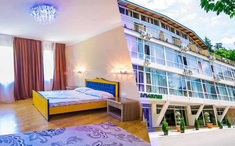 Premium კლასის 4 ვარსკვლავიანი სასტუმრო `ბორჯომი აისი / Borjomi Aisi` გთავაზობთ დასვენებას 2, 3, 4 ადგილიან ნომერში + საუზმე