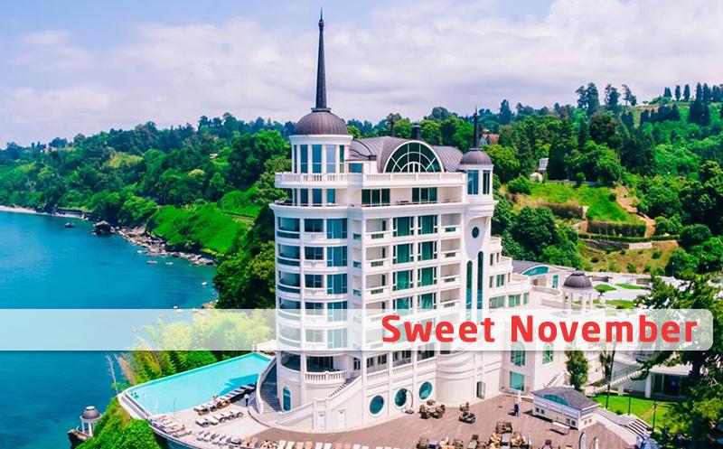 ნოემბერში! ფასდაკლებით ორადგილიანი ნომრები კვებით + სპა ცენტრით სარგებლობა Premium კლასის სასტუმროში `Castello Mare Hotel & Wellness Resort`. დაისვენეთ შემოდგომაზე!