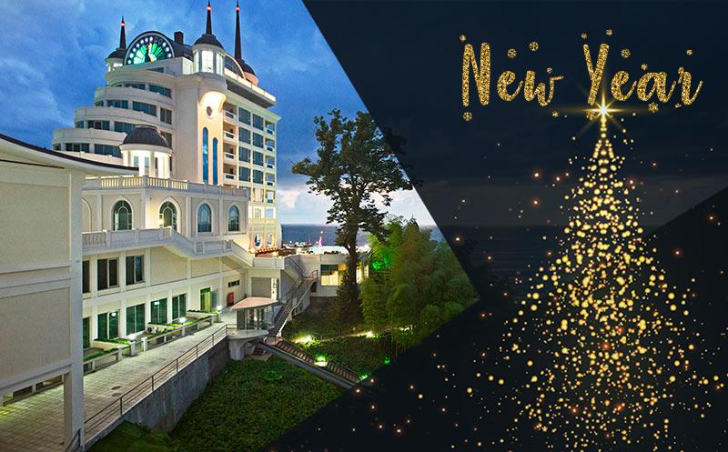 დეკემბერში! ორადგილიანი ნომრები კვებით + სპა ცენტრით სარგებლობა Premium კლასის სასტუმროში `Castello Mare Hotel & Wellness Resort`