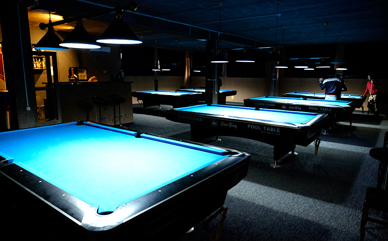 billiard club 3D