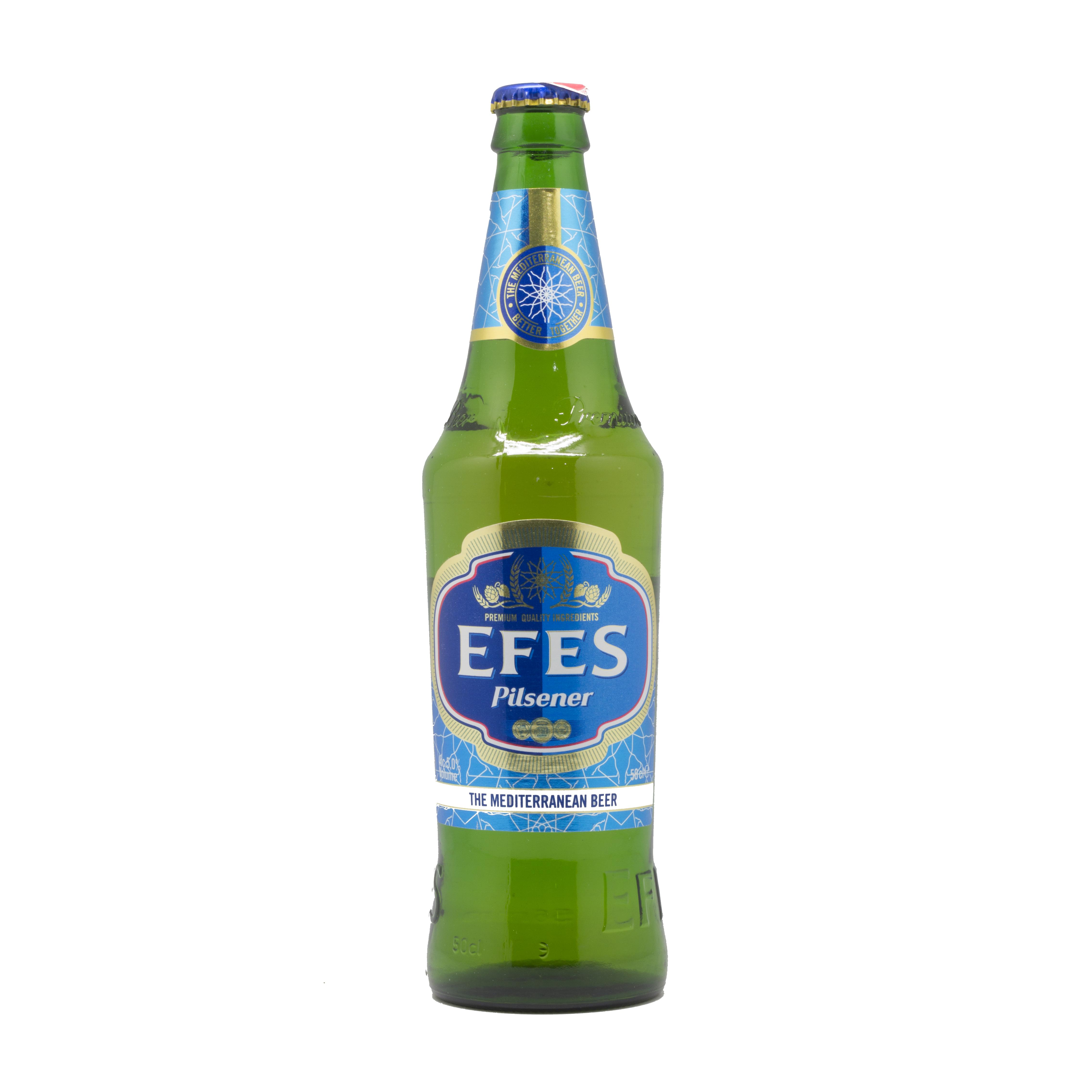 ლუდი ეფესი 0.5 ლ. ბოთლი