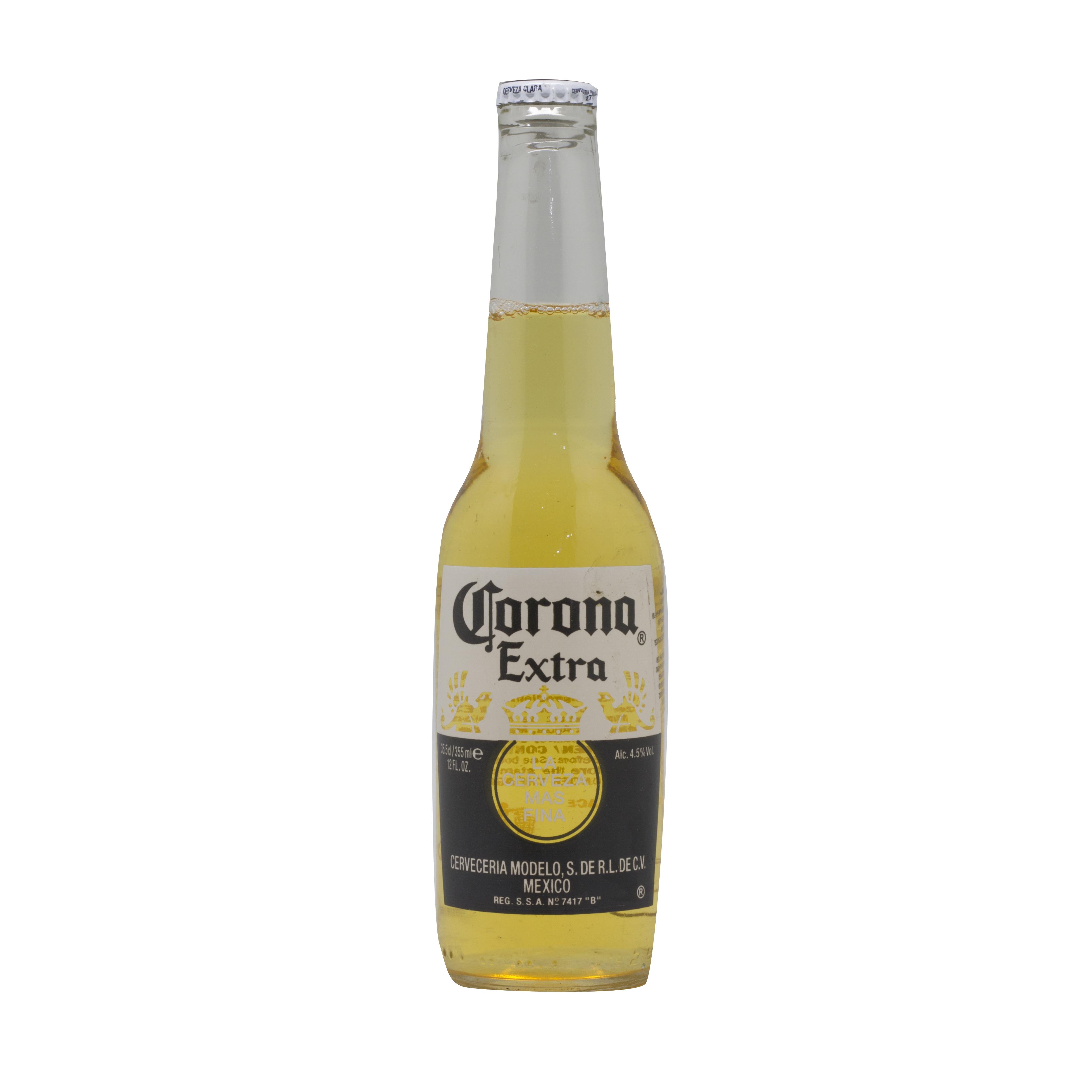 ლუდი კორონა 0.355 ლ. ბოთლი