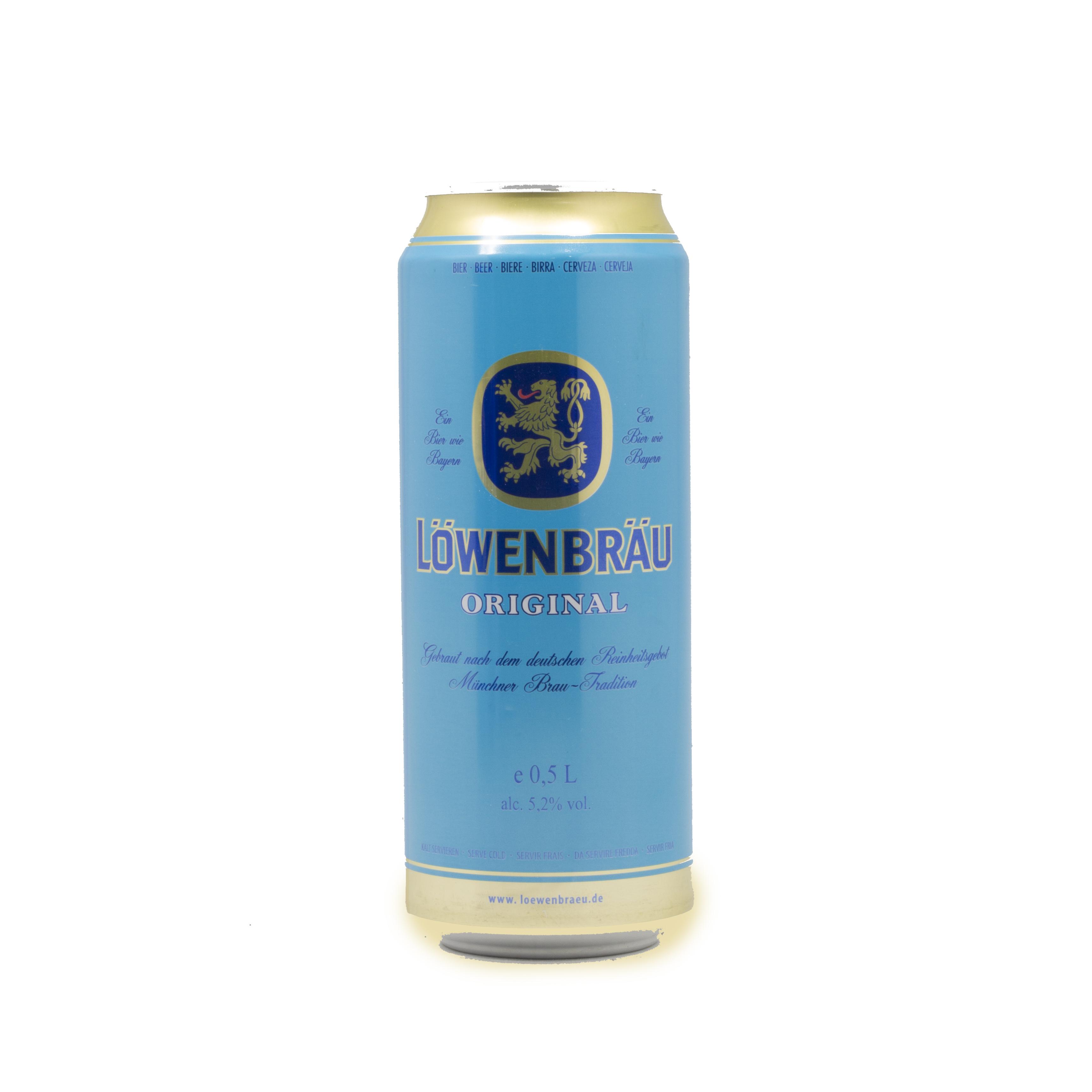 ლუდი ლოვენბრაუ 0.5 ლ. ქილა