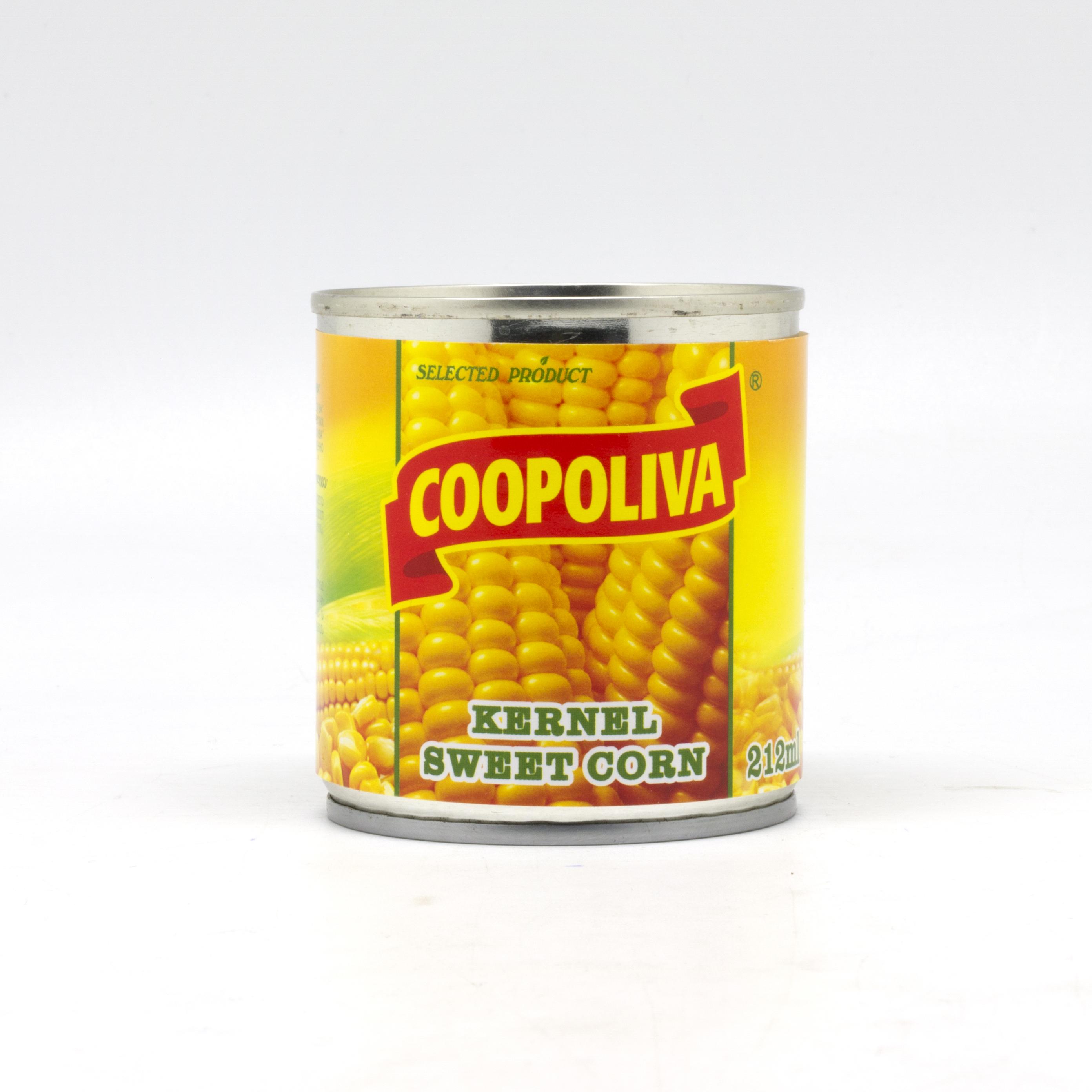 COOPOLIVA სიმინდის კონსერვი 425მლ