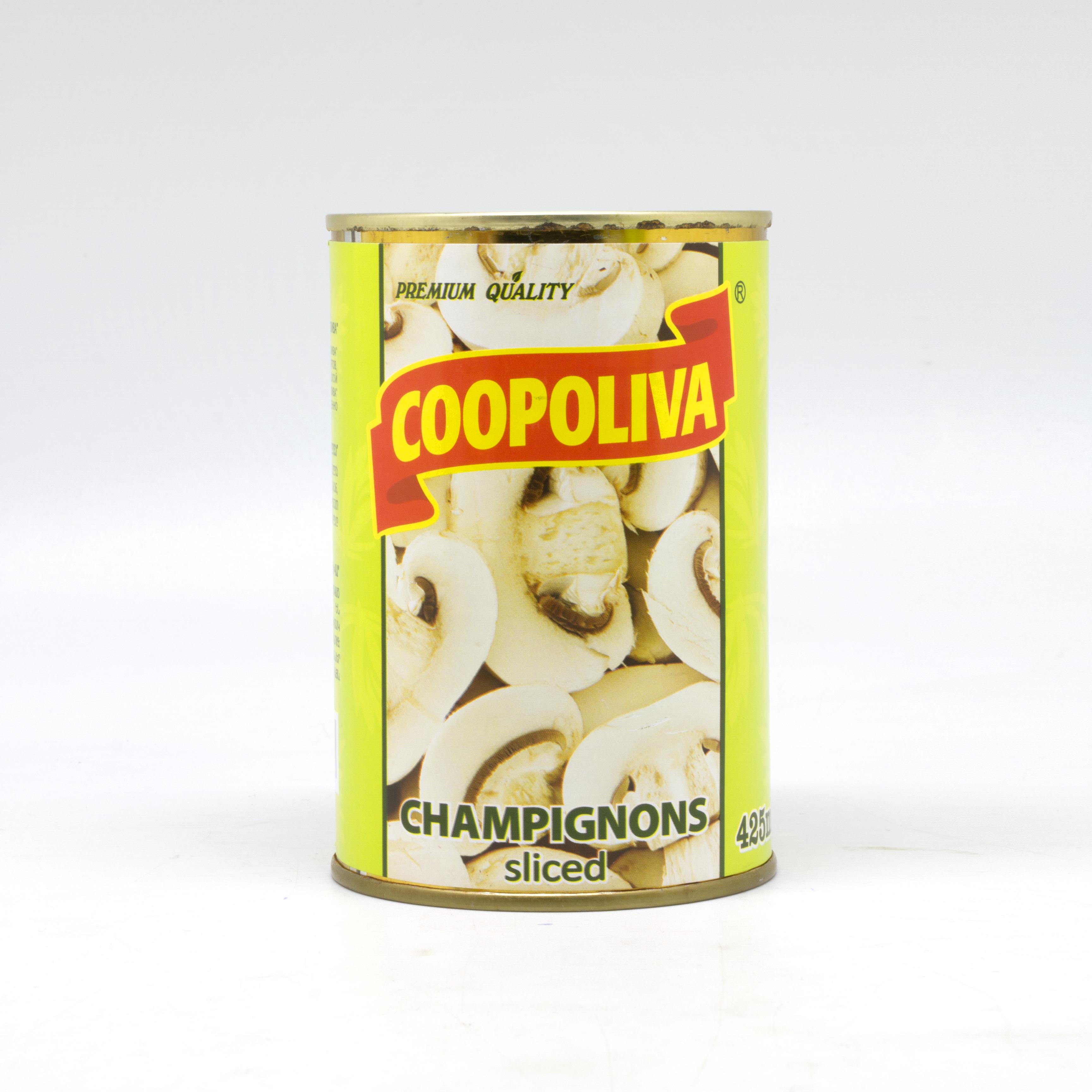 COOPOLIVA სოკო დაჭრილი პრემიუმი 425მლ