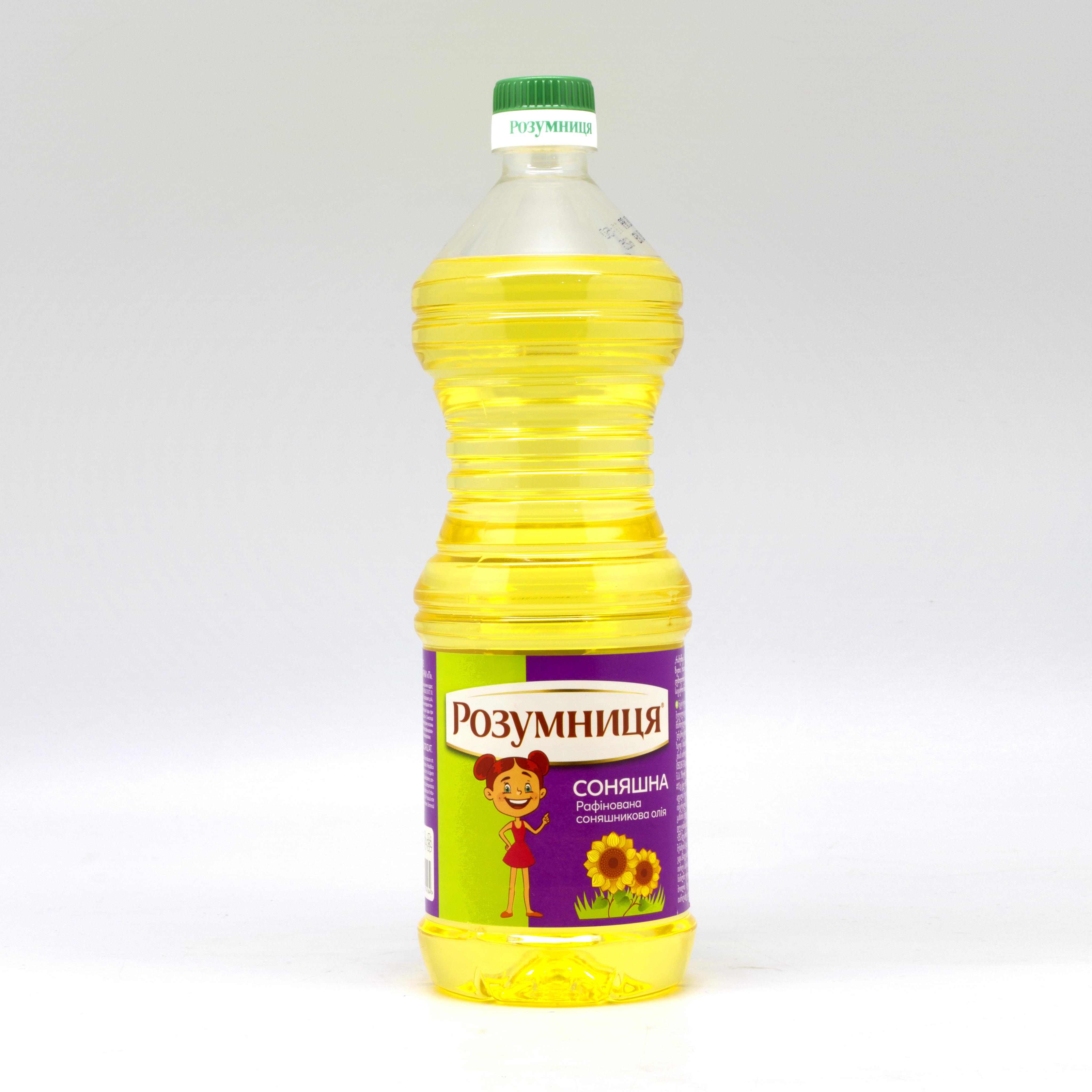 """მზესუმზირის ზეთი  """"რაზუმნიცა"""" 0.850 ლ"""