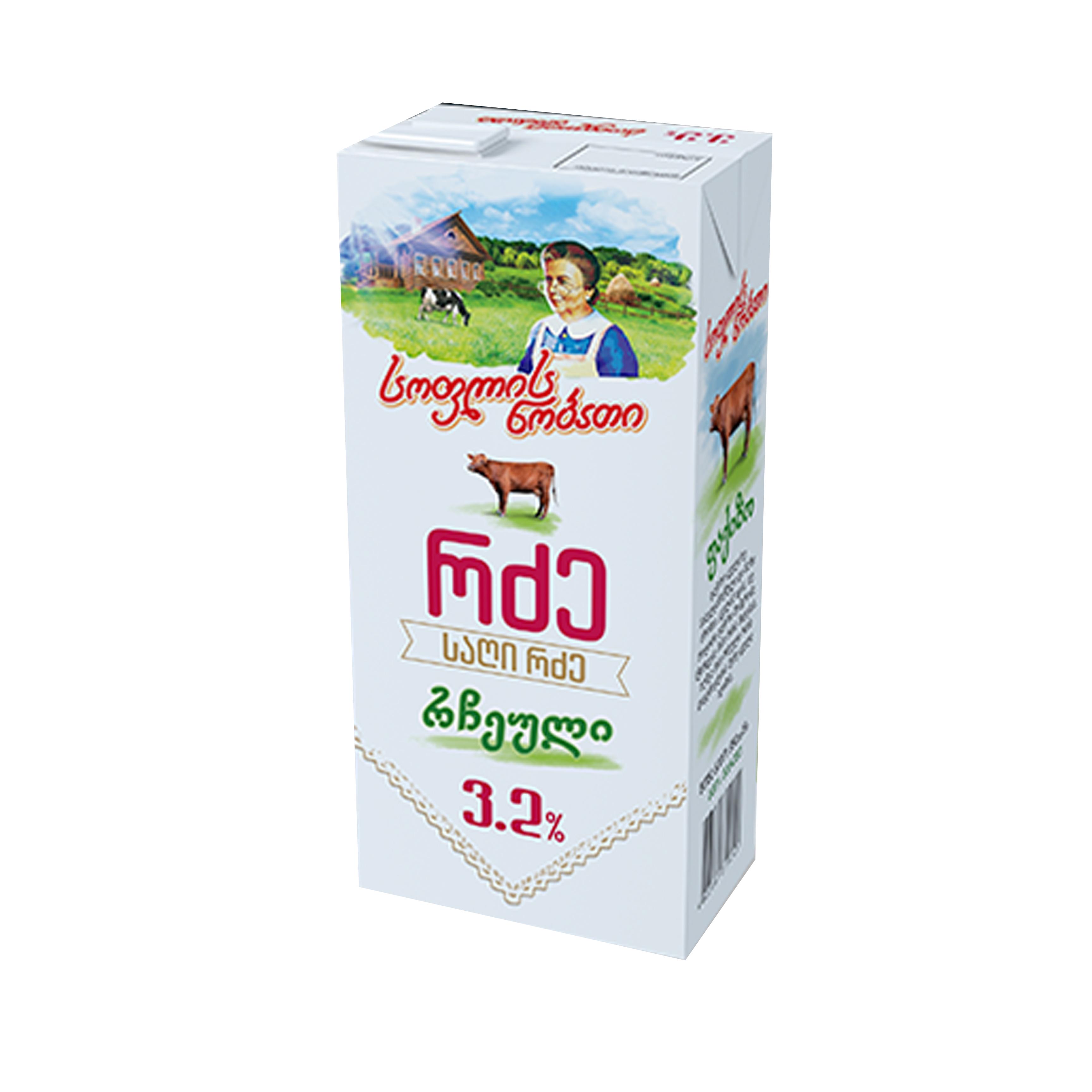 რძე რჩეული სოფ ნობ 3,2% 950გ