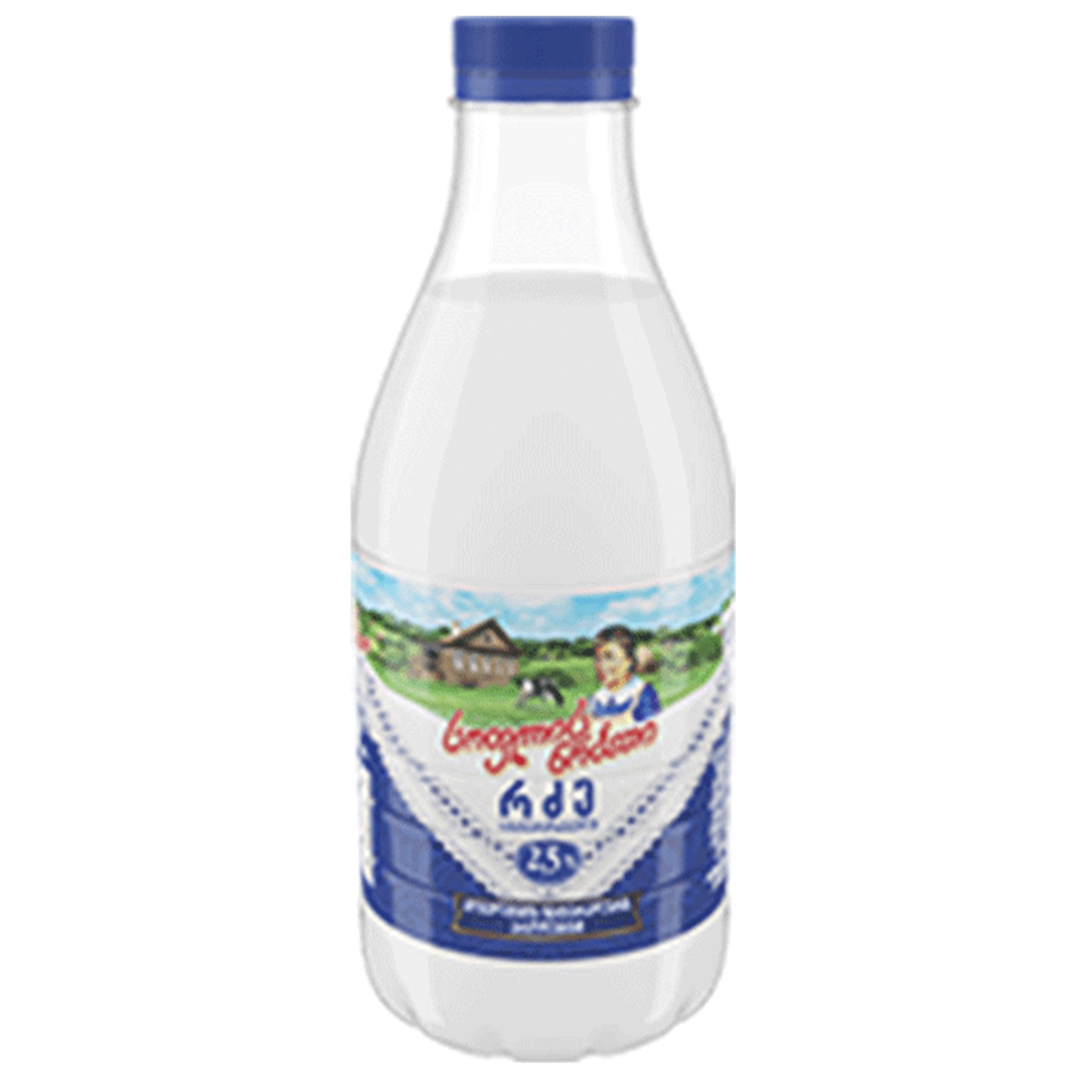 რძე სოფლის ნობათი  2,5% 950 მლ