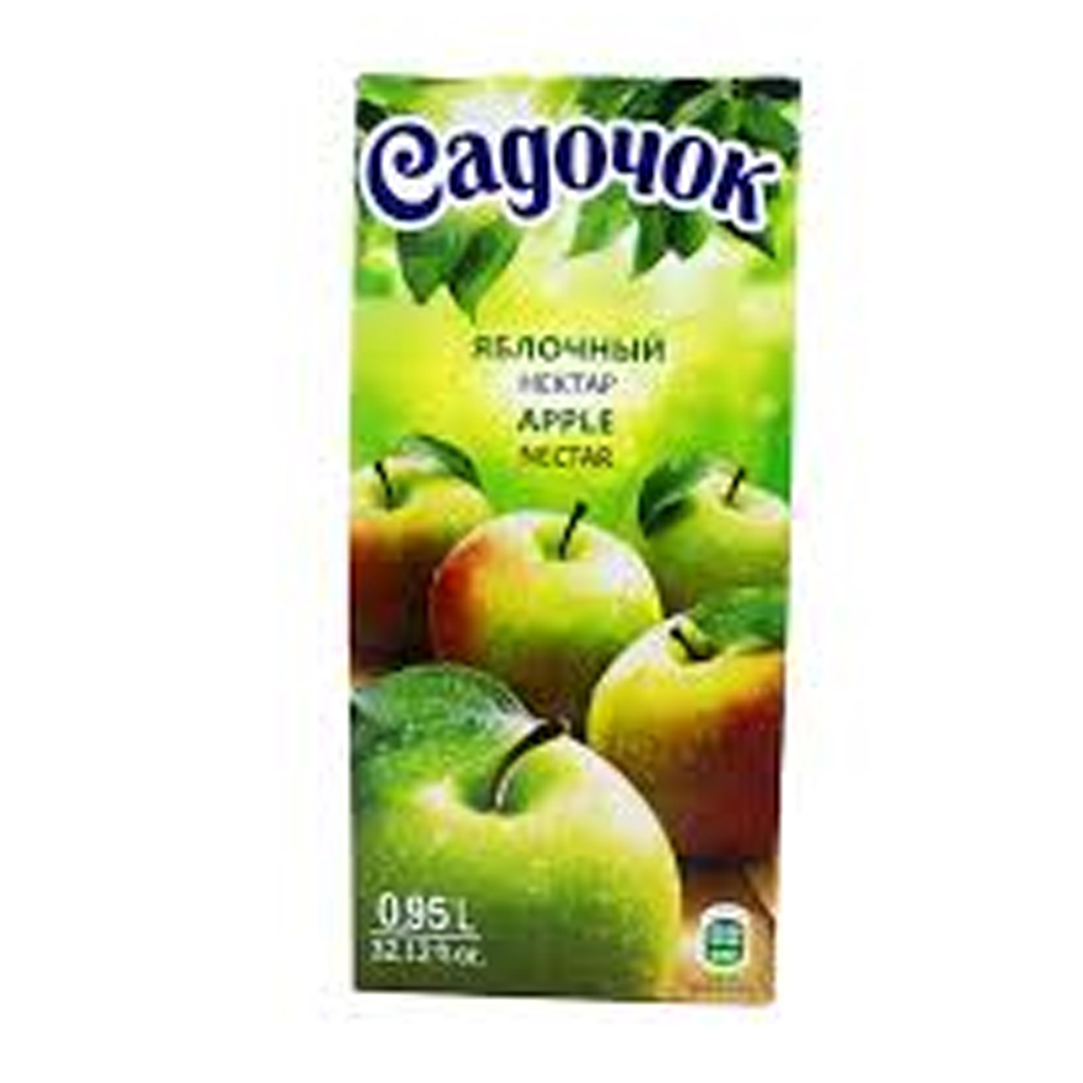 0.95ლ ვაშლი Садочок/წვენი