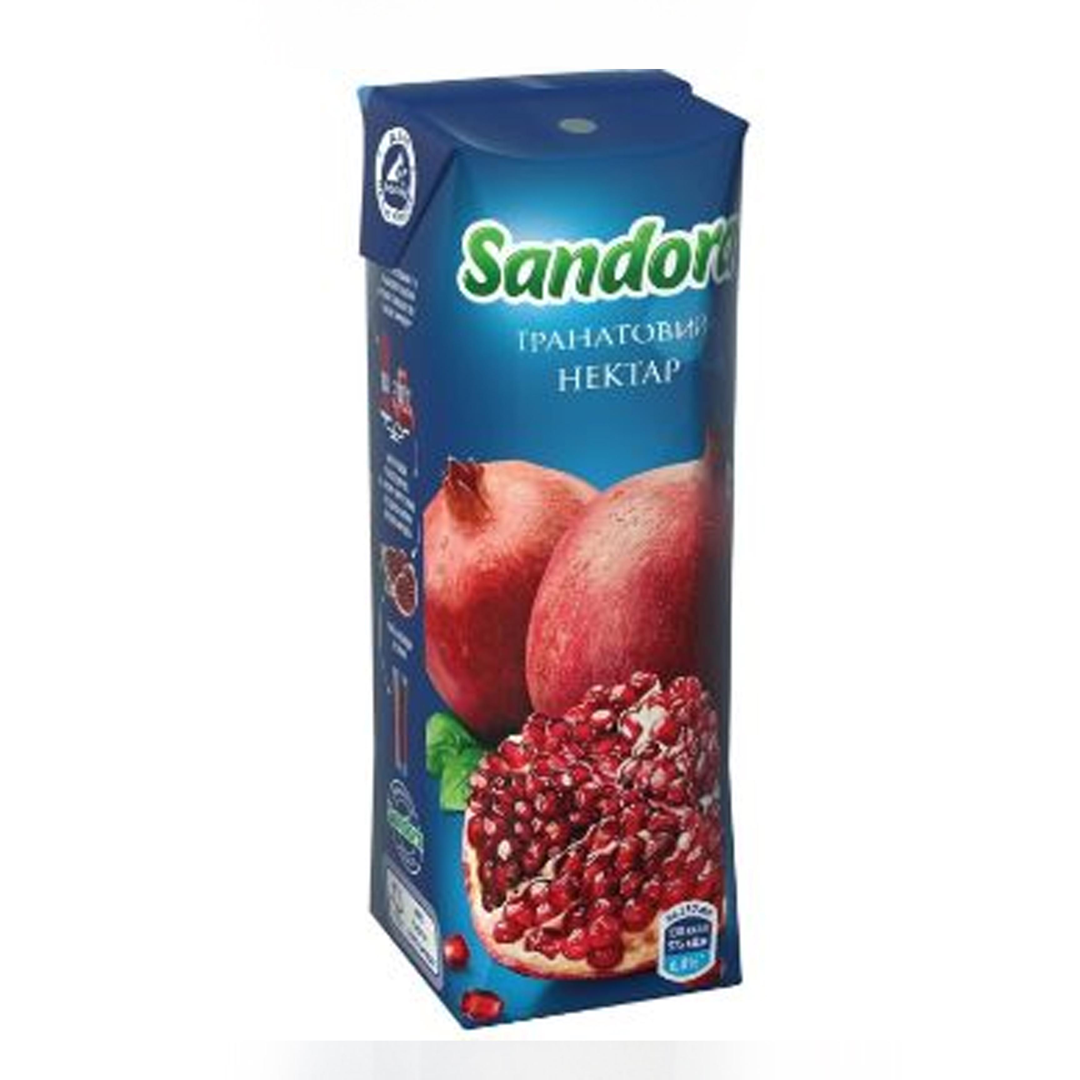 0,95ლ ბროწეული Sandora/წვენი