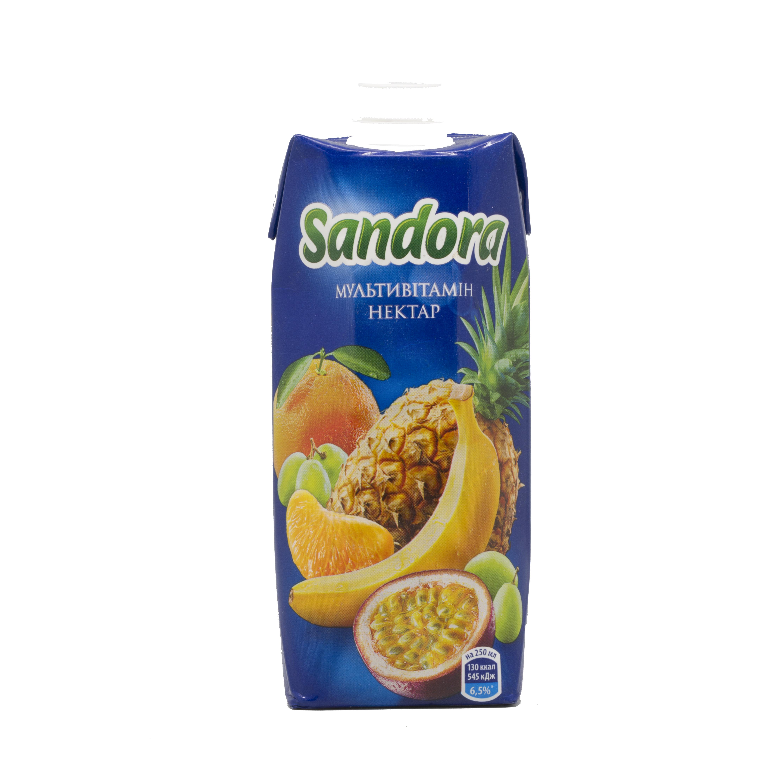 2ლ მულტივიტამინი Sandora/წვენი