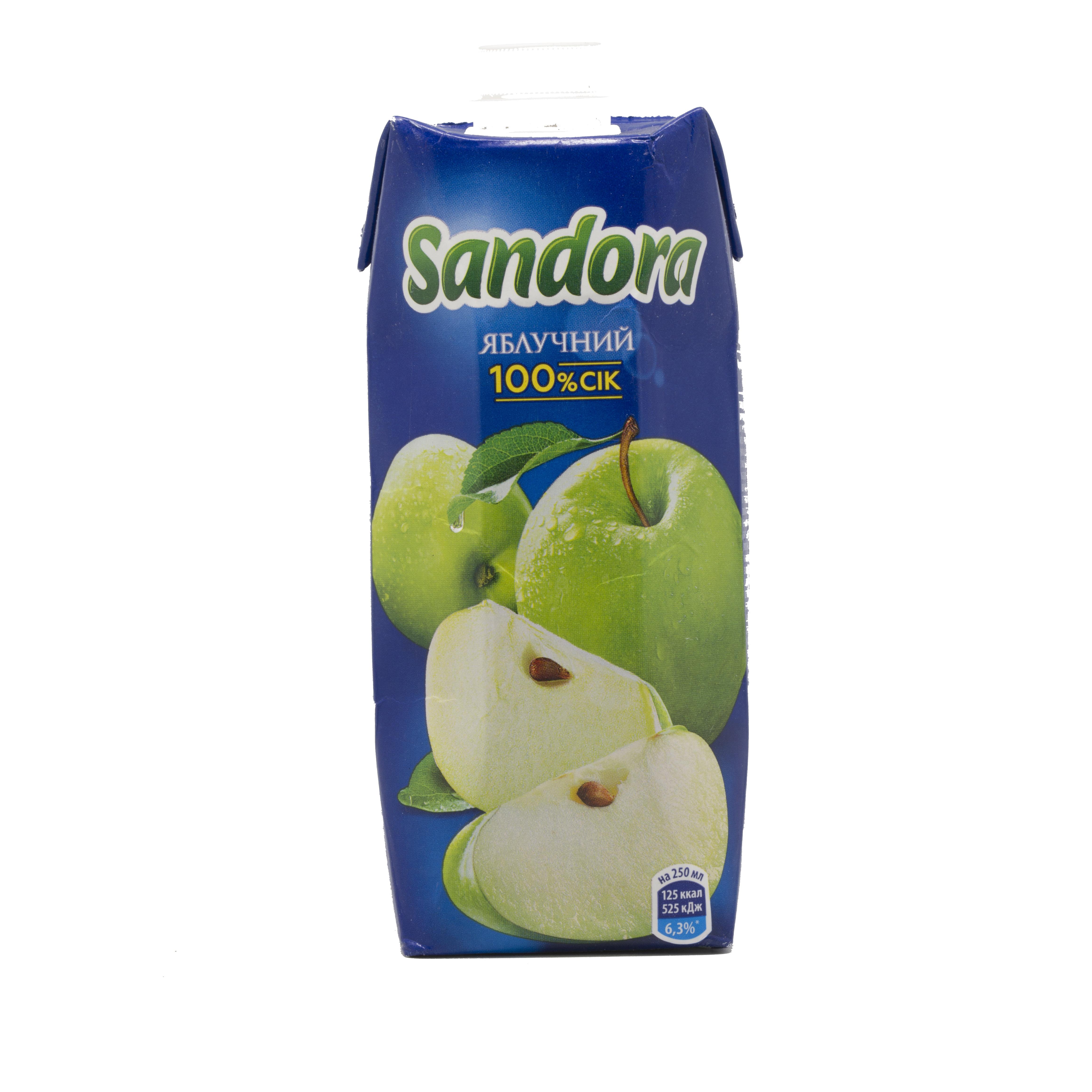0,5ლ ვაშლი Sandora/წვენი