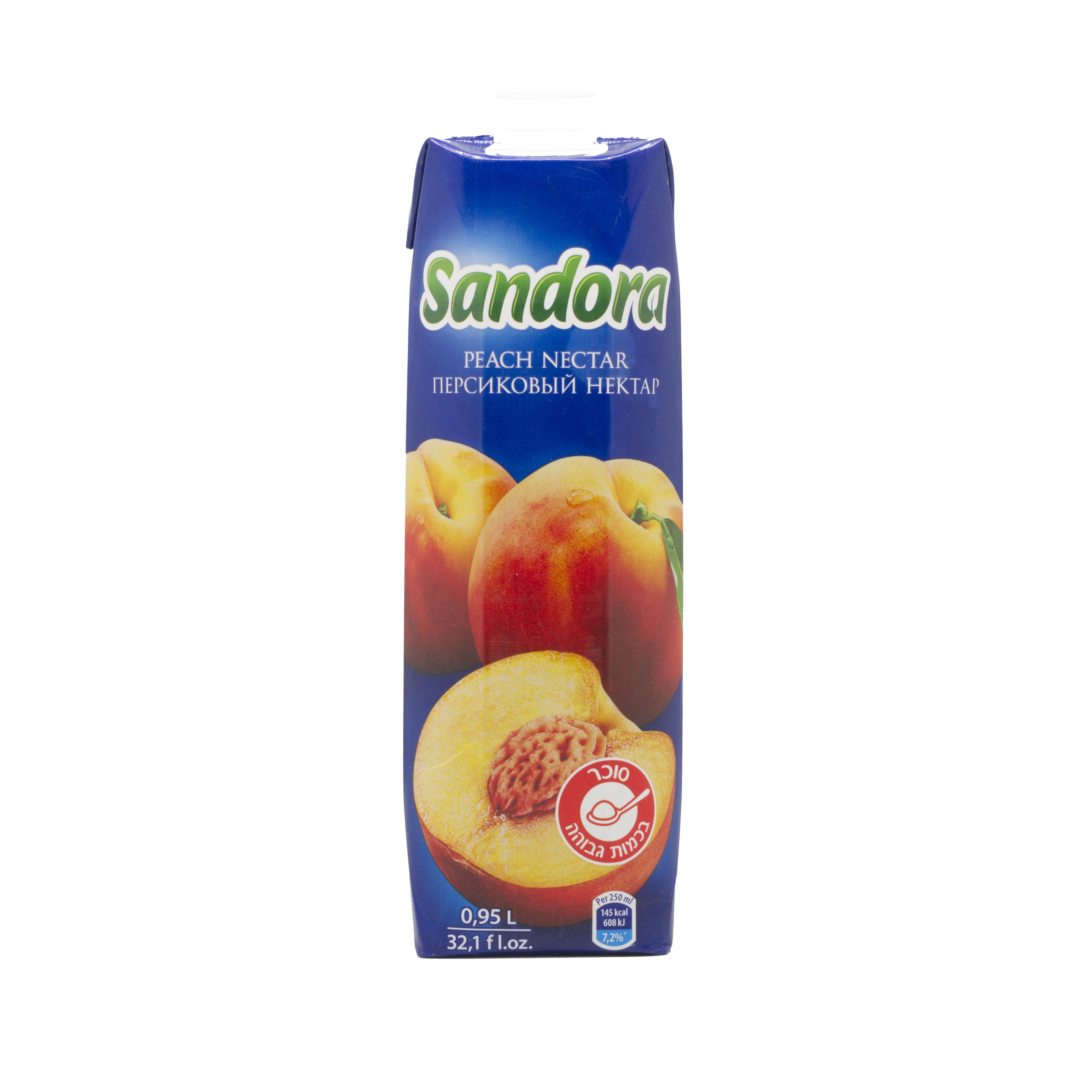 0,95ლ ატამი Sandora/წვენი