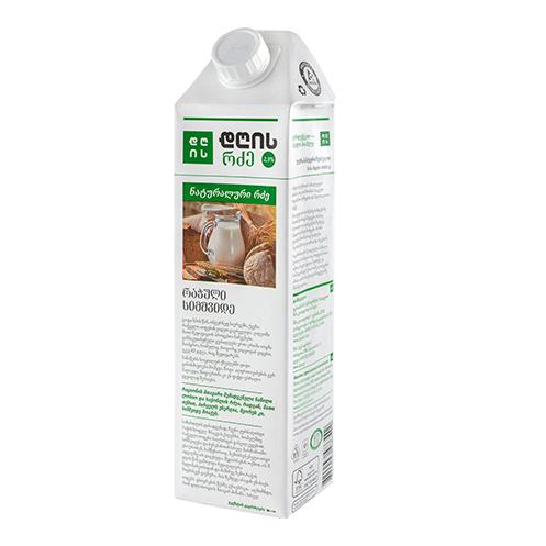 რძე 2,5 % 1ლ