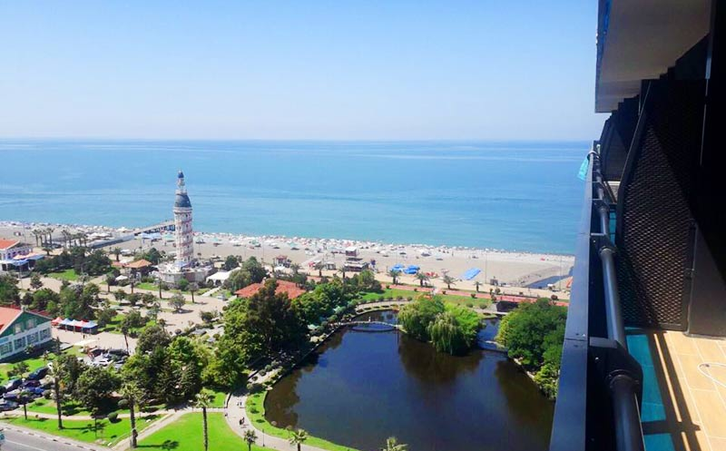 twin tower batumi